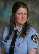 Noala Lake  Firefighter, MFR, Chairperson Fire Prevention committee  Occupation:Retail Food Industry  Years in Fire Service:4