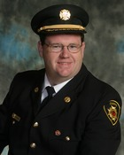 Deputy Chief Scott Cruickshank.  Firefighter, MFR Occupation: Mechanic